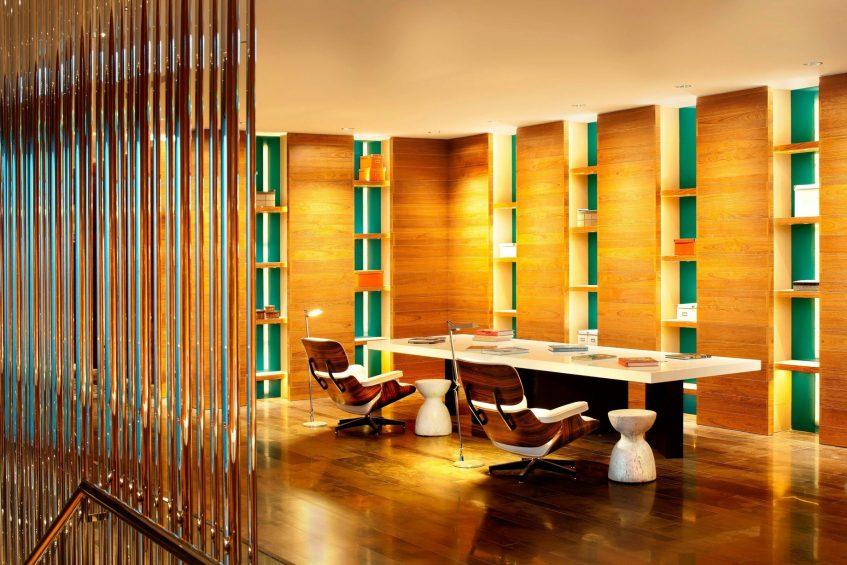W Taipei Luxury Hotel - Taipei, Taiwan - Library Corner Room
