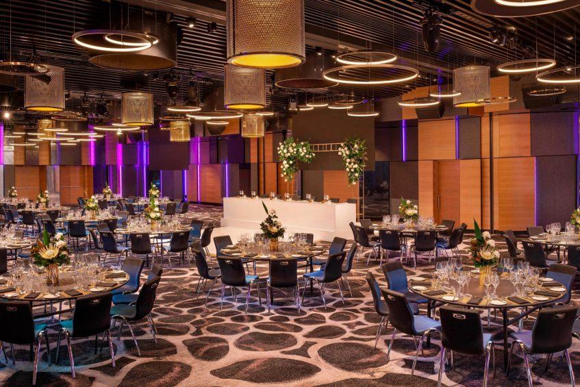 W Brisbane Luxury Hotel - Brisbane, Australia - Wedding Hall Reception
