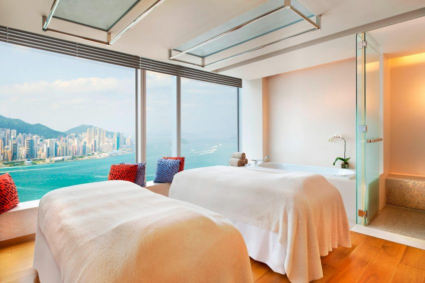 W Hong Kong Luxury Hotel - Hong Kong - Bliss Spa Treatment Room