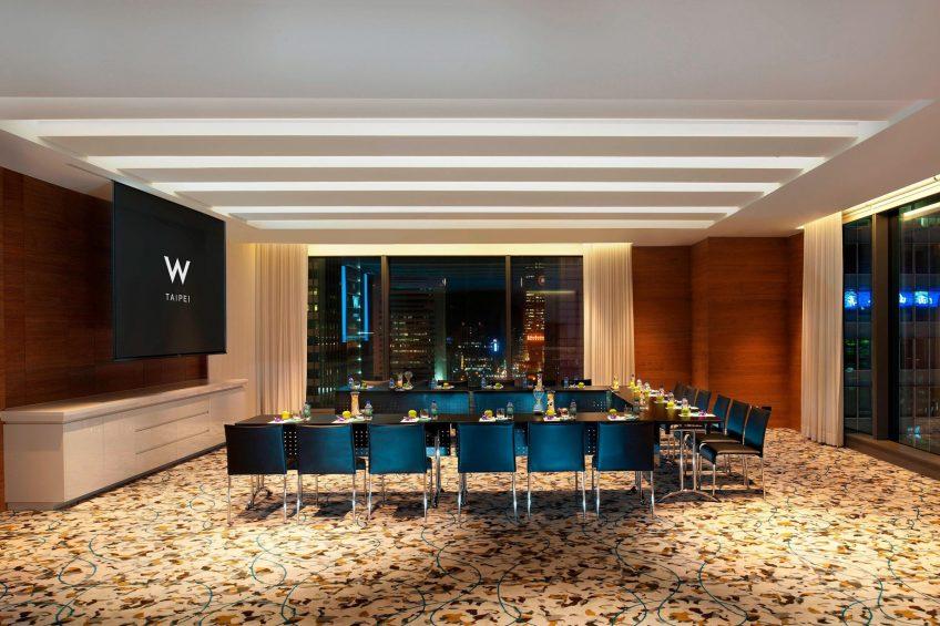 W Taipei Luxury Hotel - Taipei, Taiwan - Strategy Room