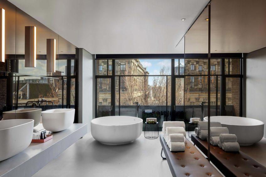 W Amsterdam Luxury Hotel - Amsterdam, Netherlands - WOW Exchange One Bedroom Studio Bathroom