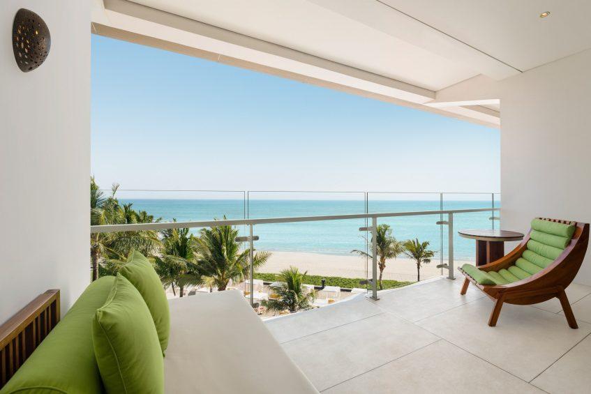W Bali Seminyak Luxury Resort - Seminyak, Indonesia - Spectacular Ocean Facing Escape Guest Room Balcony