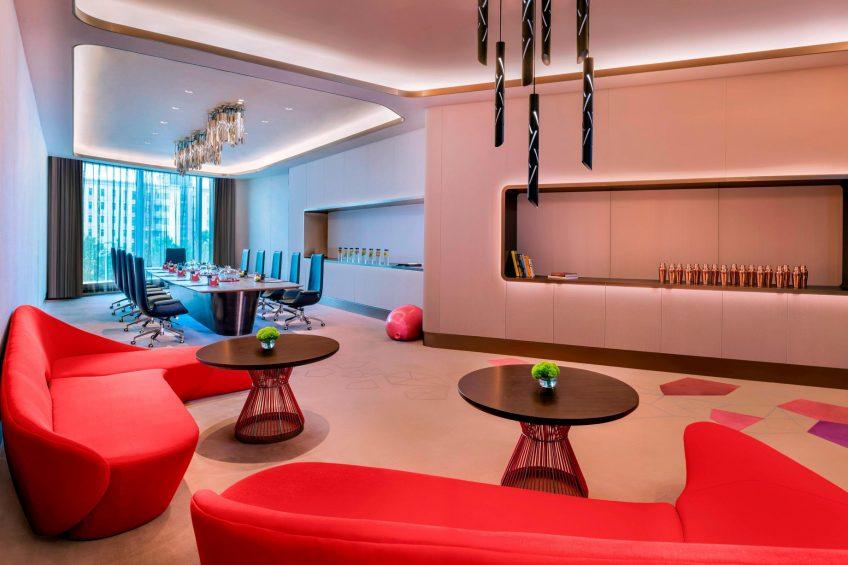 W Suzhou Luxury Hotel - Suzhou, China - Strategy Room