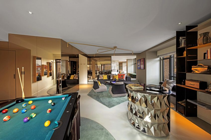 W Amsterdam Luxury Hotel - Amsterdam, Netherlands - WOW Exchange One Bedroom Studio Decor
