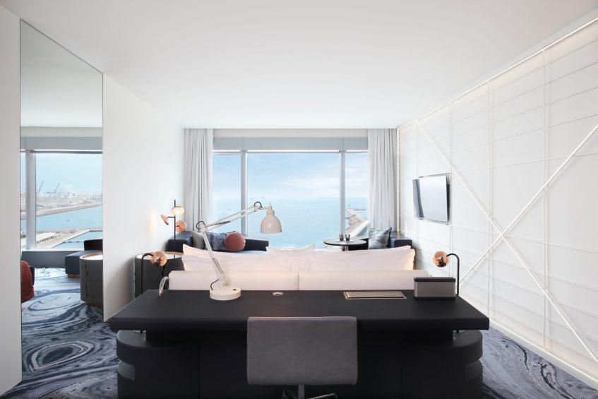 W Barcelona Luxury Hotel - Barcelona, Spain - Wonderful Sky Guest Room King