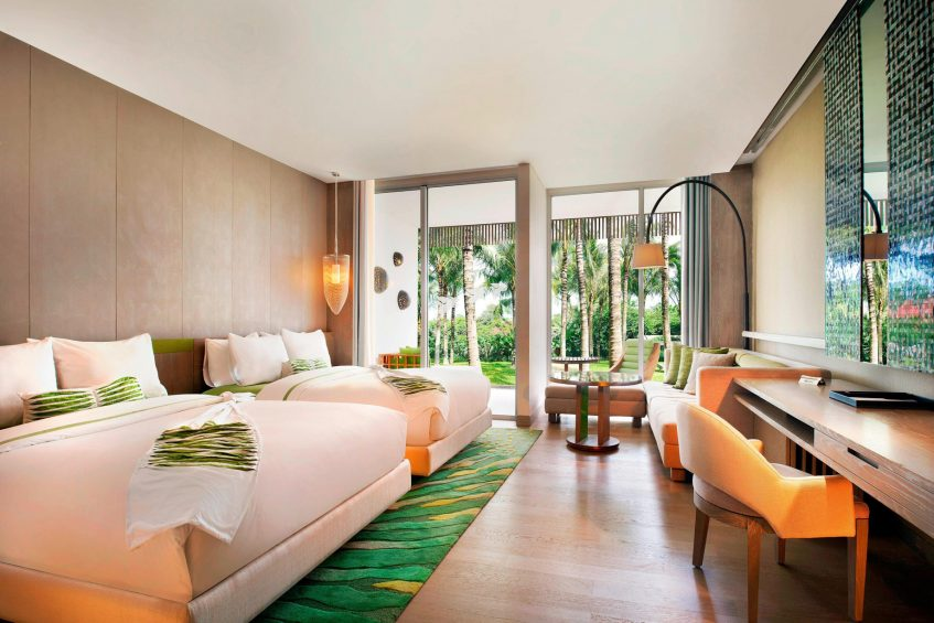 W Bali Seminyak Luxury Resort - Seminyak, Indonesia - Wonderful Garden Escape Twin Beds