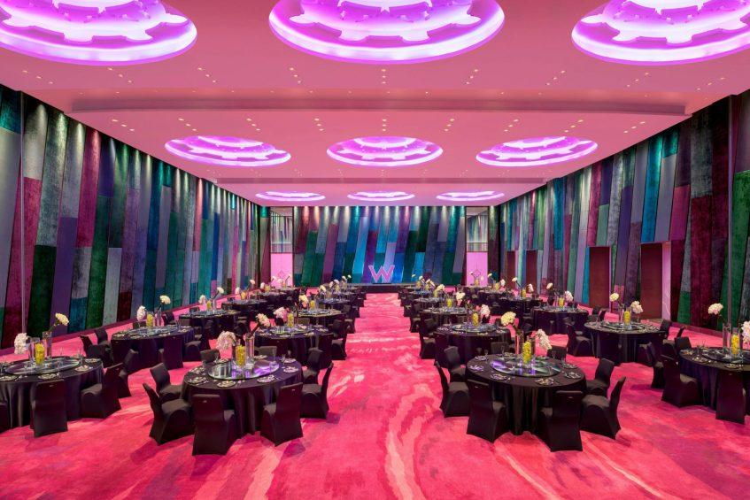 W Suzhou Luxury Hotel - Suzhou, China - Great Room Wedding Reception