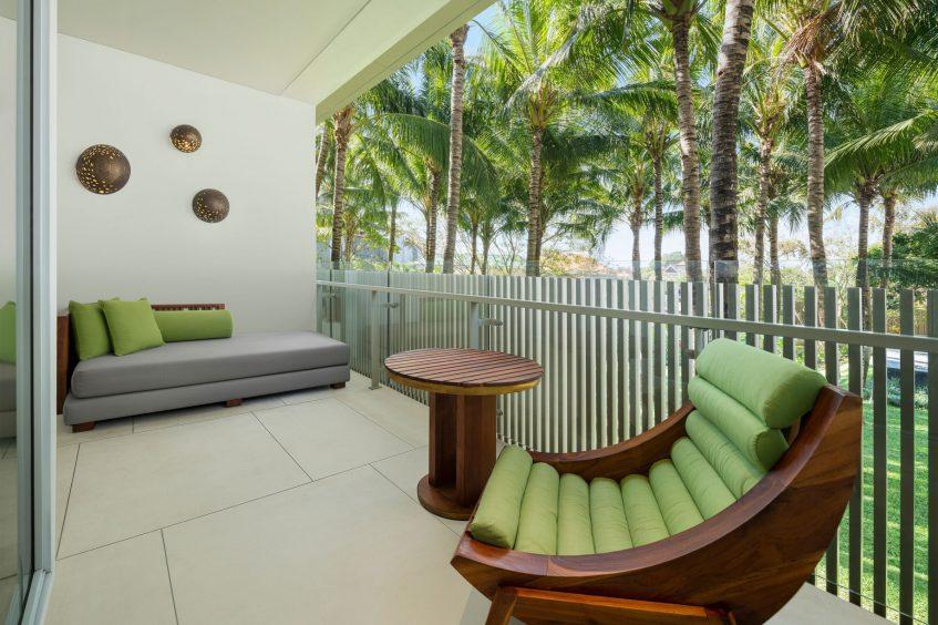 W Bali Seminyak Luxury Resort - Seminyak, Indonesia - Wonderful Garden View Escape Guest Room Balcony