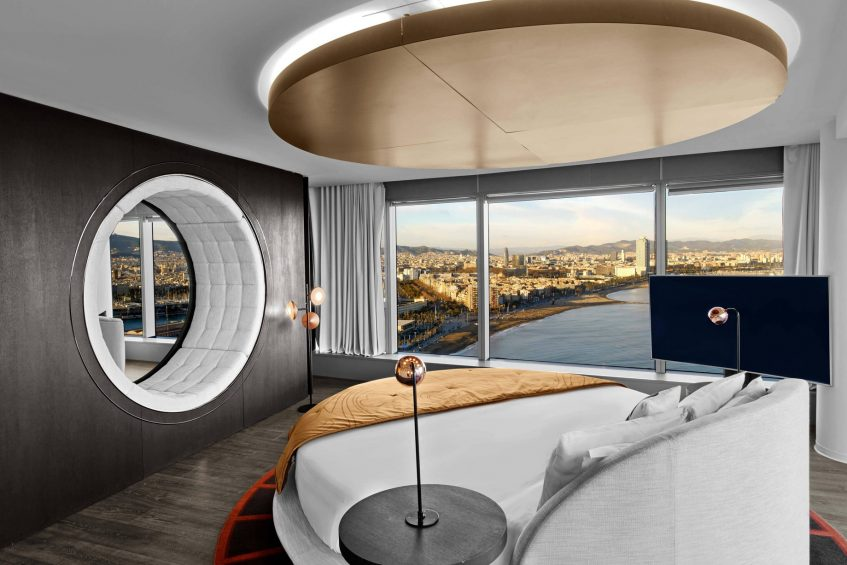 W Barcelona Luxury Hotel - Barcelona, Spain - WOW Suite Bedroom