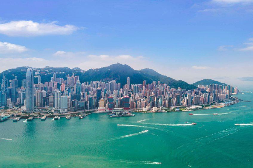 W Hong Kong Luxury Hotel - Hong Kong - Hong Kong Panoramic Aerial