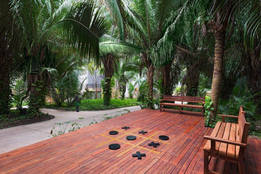 W Punta de Mita Luxury Resort - Punta De Mita, Mexico - Outdoor Tic Tac Toe