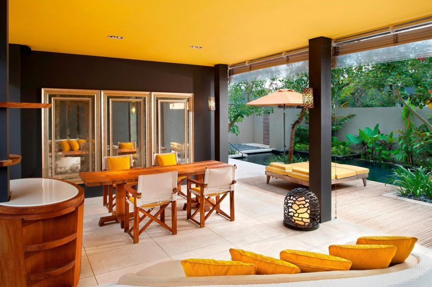 W Bali Seminyak Luxury Resort - Seminyak, Indonesia - Wow 2 Bedroom Pool Villa Deck