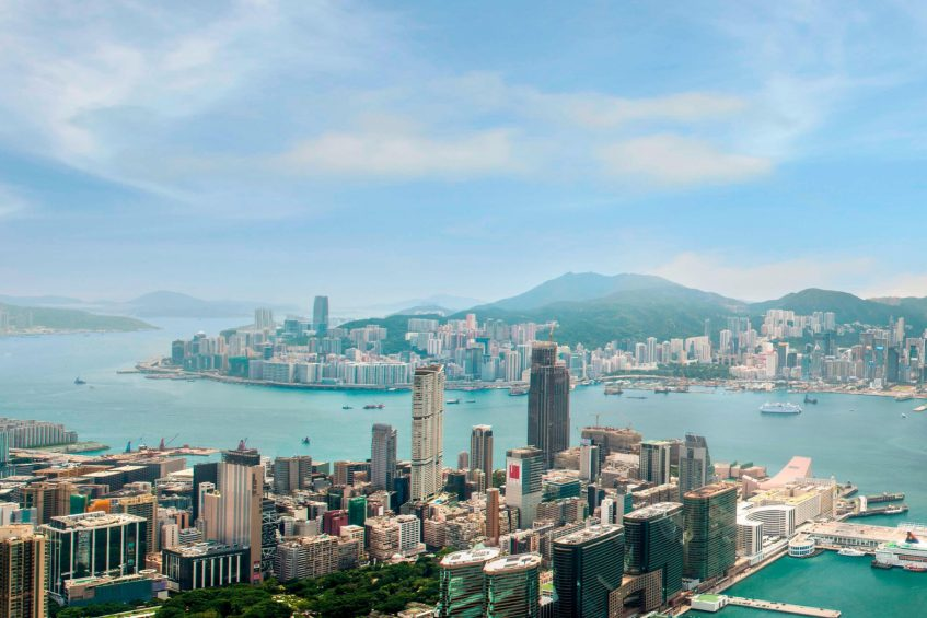 W Hong Kong Luxury Hotel - Hong Kong - Hong Kong Panoramic View
