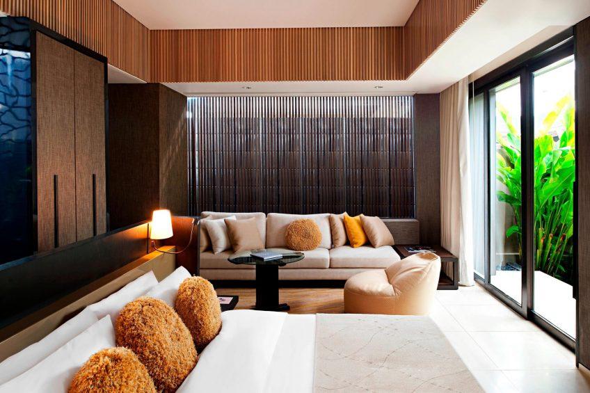 W Bali Seminyak Luxury Resort - Seminyak, Indonesia - Wow 2 Bedroom Pool Villa Master Bedroom