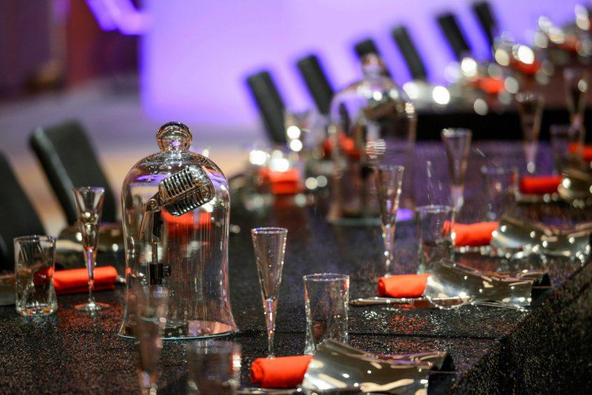W Suzhou Luxury Hotel - Suzhou, China - Mood Table Setting