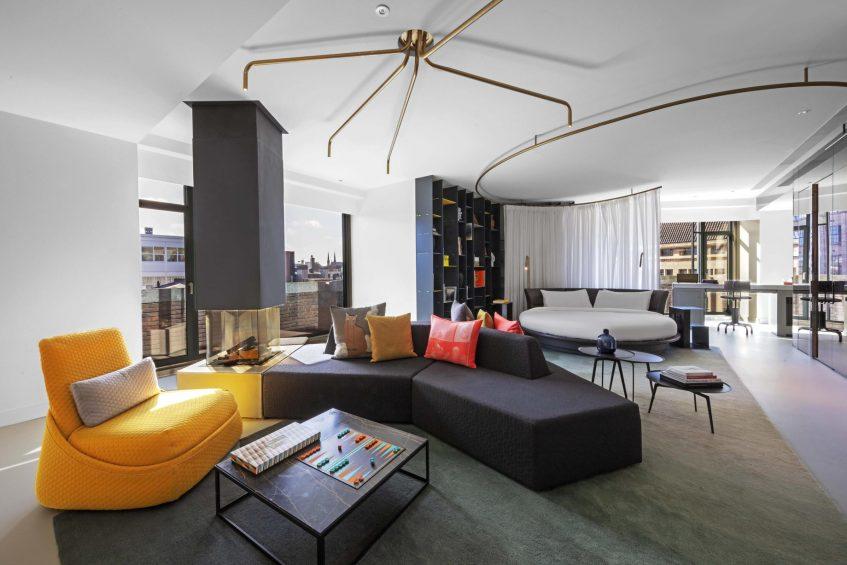 W Amsterdam Luxury Hotel - Amsterdam, Netherlands - WOW Exchange One Bedroom Studio Suite