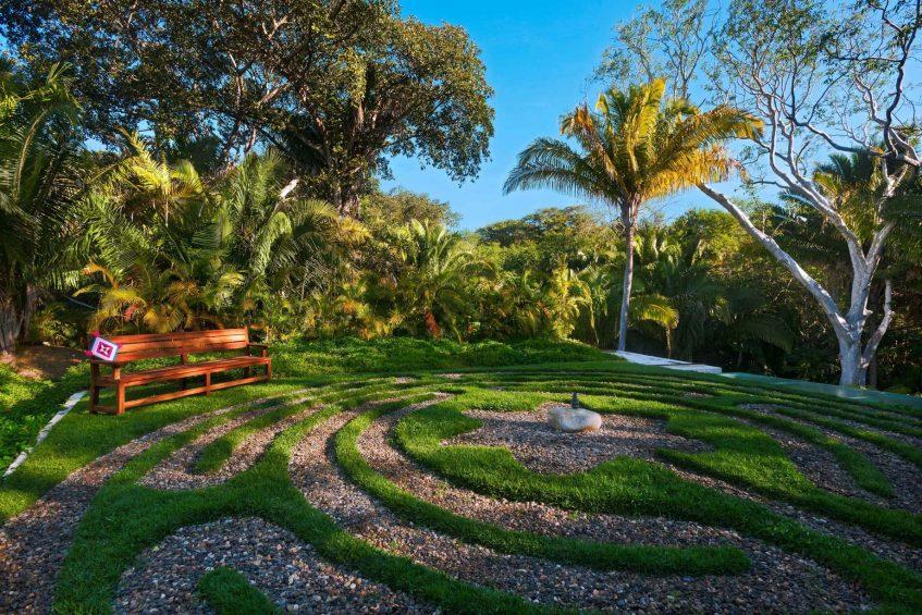 W Punta de Mita Luxury Resort - Punta De Mita, Mexico - Labyrinth Garden