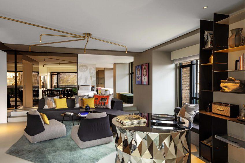 W Amsterdam Luxury Hotel - Amsterdam, Netherlands - WOW Exchange One Bedroom Studio