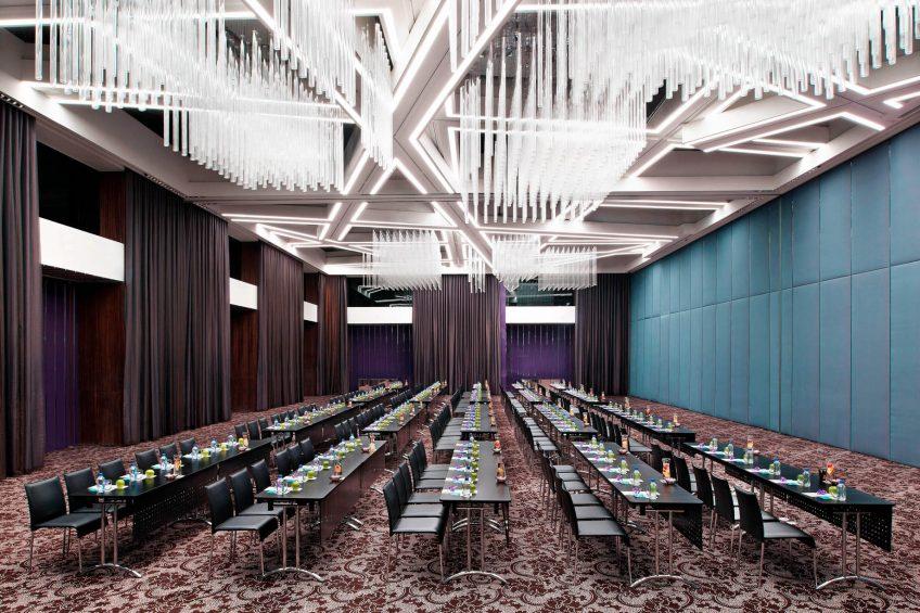 W Taipei Luxury Hotel - Taipei, Taiwan - Mega Room Class Setup