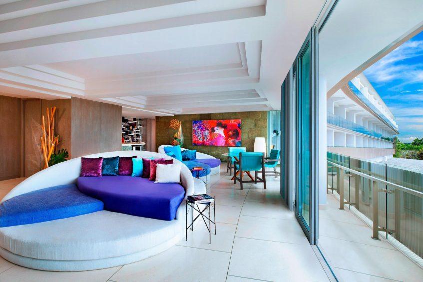 W Bali Seminyak Luxury Resort - Seminyak, Indonesia - WOW Suite Living Room Deck