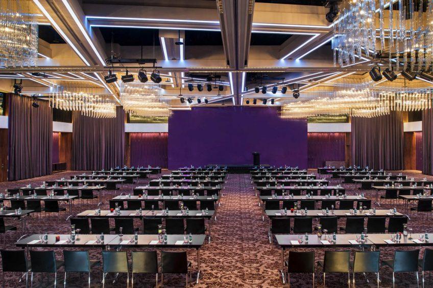 W Taipei Luxury Hotel - Taipei, Taiwan - Mega Room Classroom Setup
