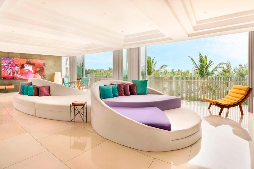 W Bali Seminyak Luxury Resort - Seminyak, Indonesia - WOW Suite Living Room