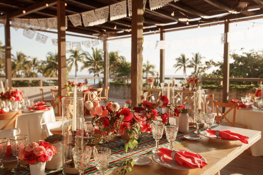 W Punta de Mita Luxury Resort - Punta De Mita, Mexico - Mexican Wedding Reception Dinner