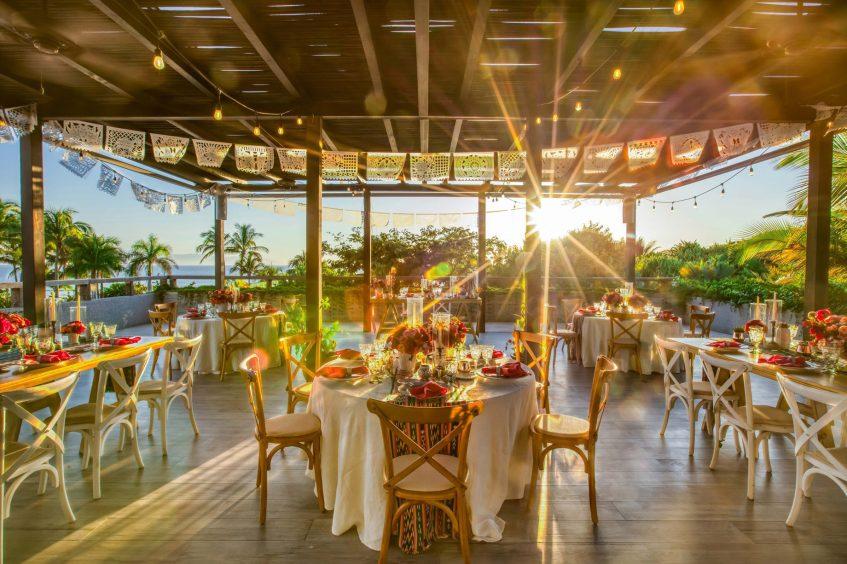 W Punta de Mita Luxury Resort - Punta De Mita, Mexico - Mexican Reception Setup
