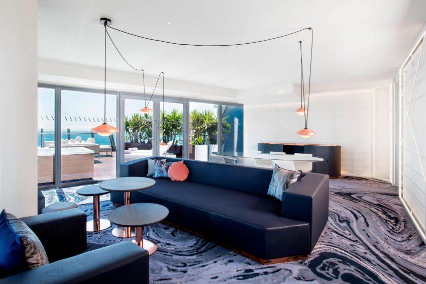 W Barcelona Luxury Hotel - Barcelona, Spain - Spectacular Suite