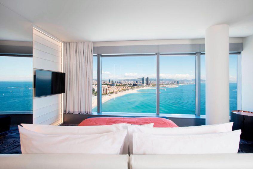W Barcelona Luxury Hotel - Barcelona, Spain - Spectacular Suite Views