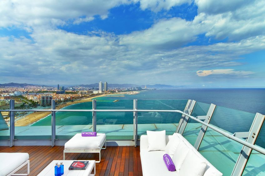 W Barcelona Luxury Hotel - Barcelona, Spain - Spectacular Suite Terrace and Views