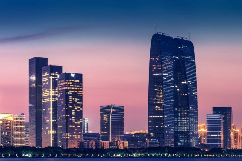 W Suzhou Luxury Hotel - Suzhou, China - Sunset