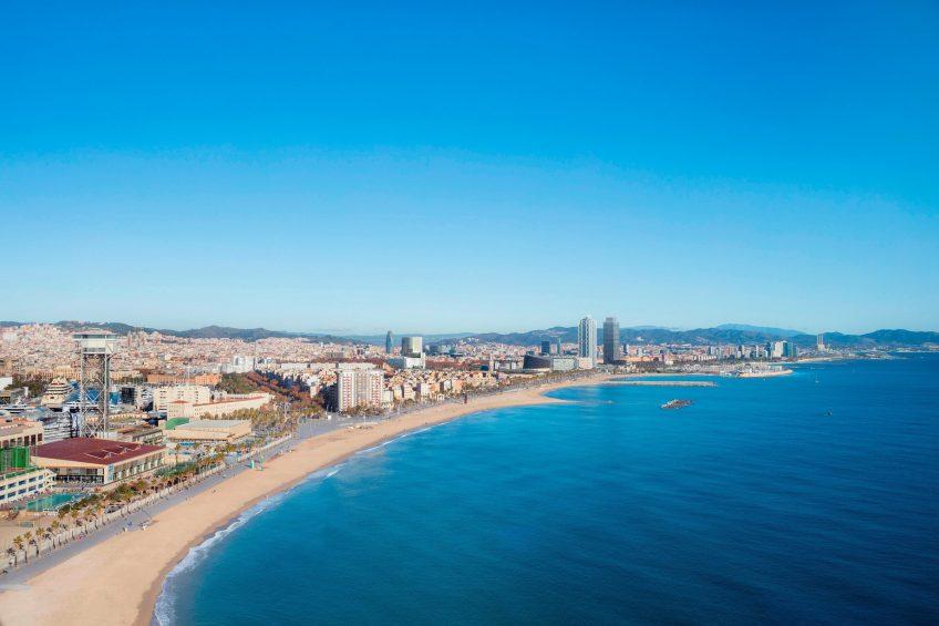 W Barcelona Luxury Hotel - Barcelona, Spain - Fabulous Sky Room View