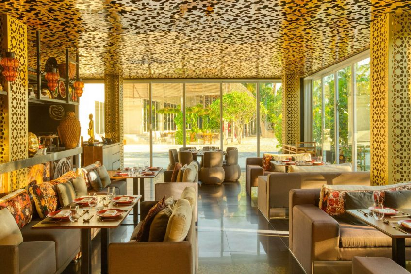 W Punta de Mita Luxury Resort - Punta De Mita, Mexico - Spice Market Restaurant Day