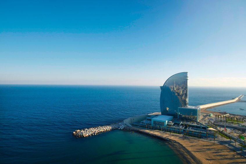 W Barcelona Luxury Hotel - Barcelona, Spain - Hotel Oceanfront