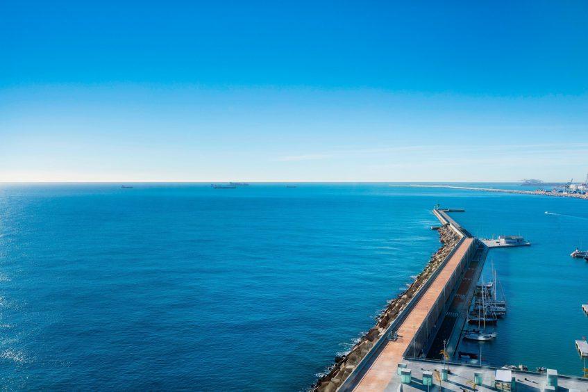 W Barcelona Luxury Hotel - Barcelona, Spain - Wonderful Sky Room View