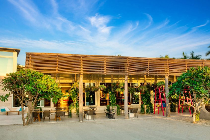 W Punta de Mita Luxury Resort - Punta De Mita, Mexico - Venazu Patio