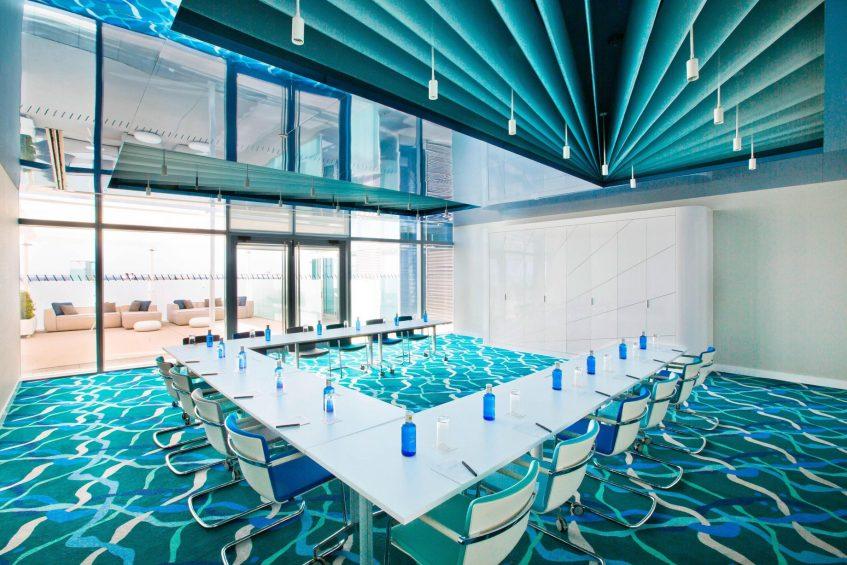W Barcelona Luxury Hotel - Barcelona, Spain - BREEZE Meeting Room