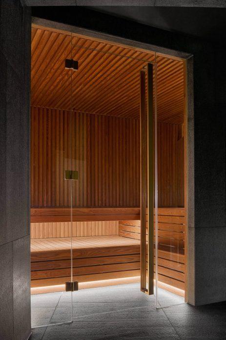 W Amsterdam Luxury Hotel - Amsterdam, Netherlands - AWAY Spa Sauna
