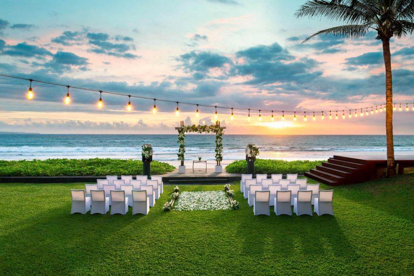 W Bali Seminyak Luxury Resort - Seminyak, Indonesia - Wedding Ceremony