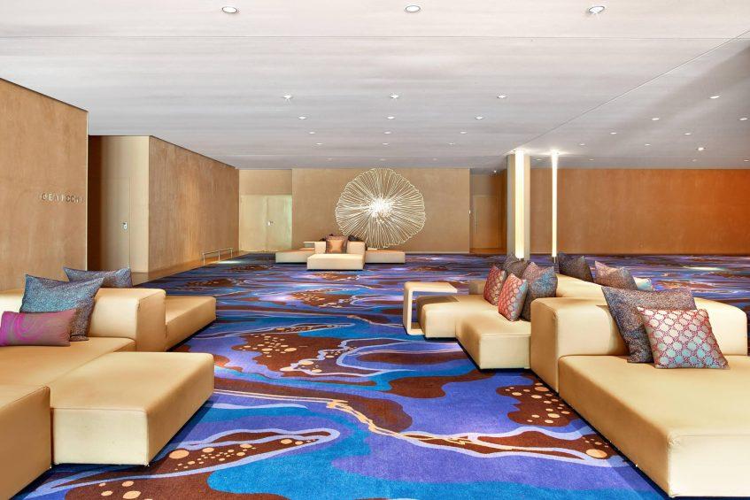 W Barcelona Luxury Hotel - Barcelona, Spain - Great Room Foyer Sofa Set Up