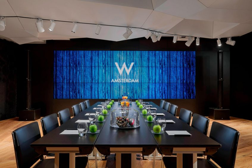 W Amsterdam Luxury Hotel - Amsterdam, Netherlands - Great Room Conference