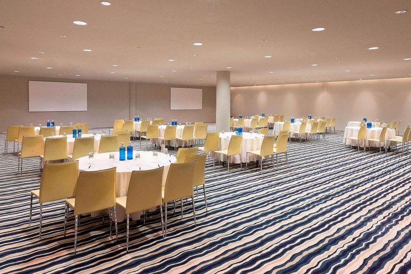W Barcelona Luxury Hotel - Barcelona, Spain - Mega Room Meeting Space