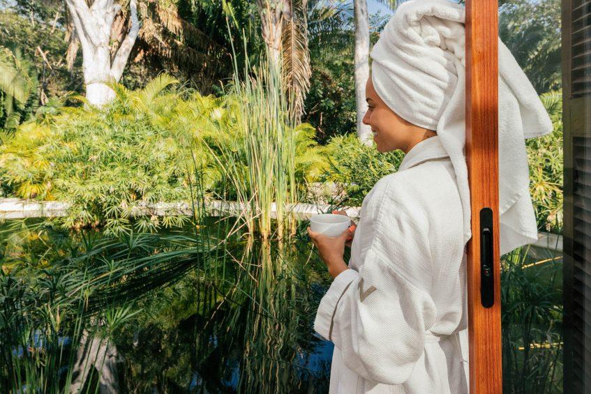 W Punta de Mita Luxury Resort - Punta De Mita, Mexico - AWAY Spa Garden