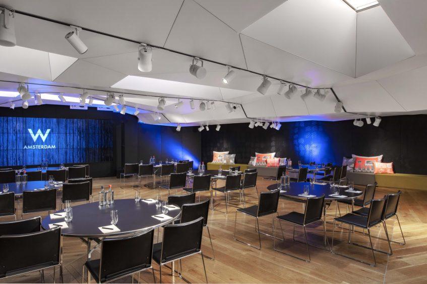 W Amsterdam Luxury Hotel - Amsterdam, Netherlands - Great Room 3 Event Setup
