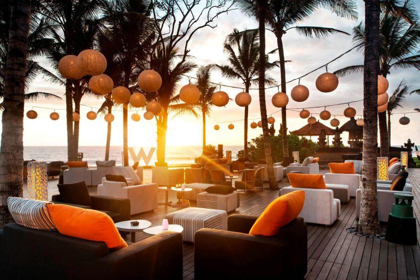 W Bali Seminyak Luxury Resort - Seminyak, Indonesia - Woobar Woodeck