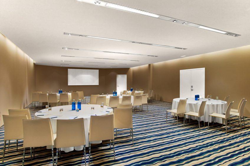 W Barcelona Luxury Hotel - Barcelona, Spain - Studio Meeting Room Tables
