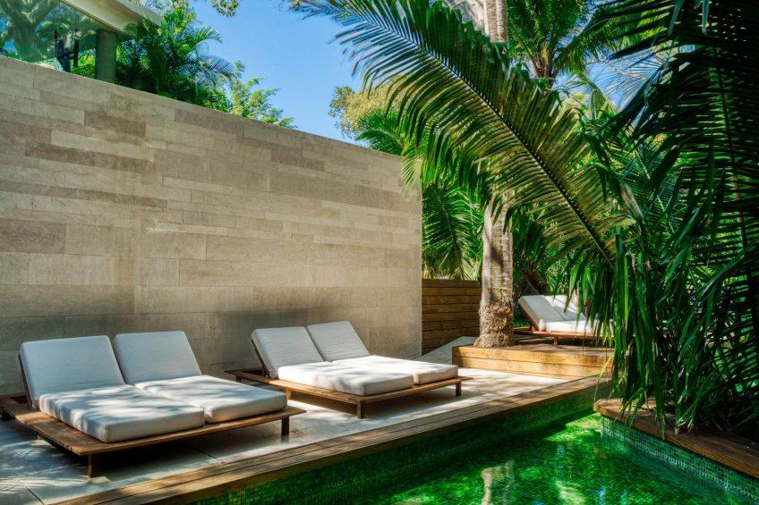 W Punta de Mita Luxury Resort - Punta De Mita, Mexico - AWAY Spa Relaxation Deck