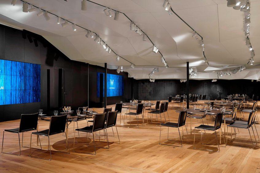 W Amsterdam Luxury Hotel - Amsterdam, Netherlands - Great Room Meeting