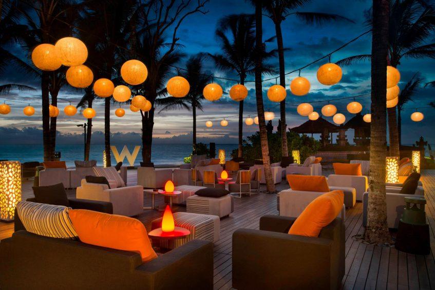 W Bali Seminyak Luxury Resort - Seminyak, Indonesia - Woobar Night